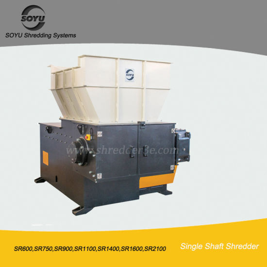 PP/PE/PVC/PS Recycling Machine Lower Noise Industrial Plastic Shredder