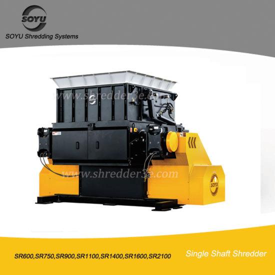 China Single Shaft Shredder for Plastic, Wood, Metal, Drum, Waste, Glass