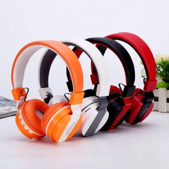 Head Phones with Mic for PC Laptop Bass Over Ear Wired Headset
