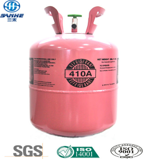 China High Quality Cylinder Refrigerant Gas (R410A) - China R410A
