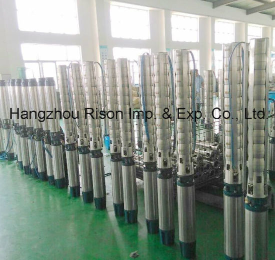 Top Grade Quality Submersible  Deep Well Pumps for Irrigation and Household Driking pictures & photos