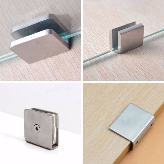 Glass Clip Connector 180 Degree Wall To Glass Shower Bracket