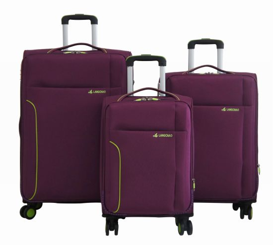 Fabric Soft Trolley Bag Luggage Set Suitcase 1jb012 pictures & photos