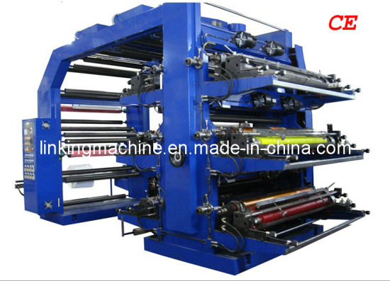 Flexographic/ Flexo Printing Machine/ Printer for Film and Paper (WS806-1000ZS) pictures & photos