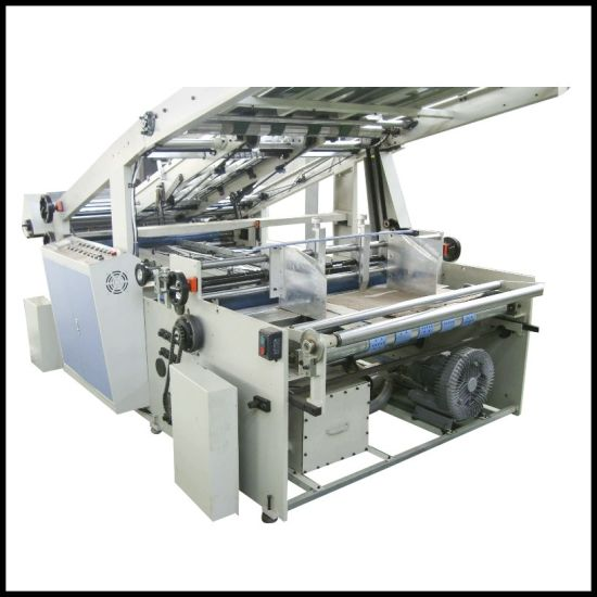 High Speed Flute Laminator Machine Adsorb Covering Paper Machine pictures & photos