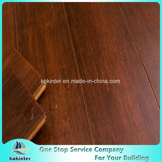 Merbau Strand Woven Bamboo Flooring Indoor Use
