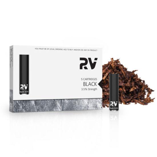 RV- Vape Pen Electronic Cigarette Classic Cartridge Black Refined Tobacco
