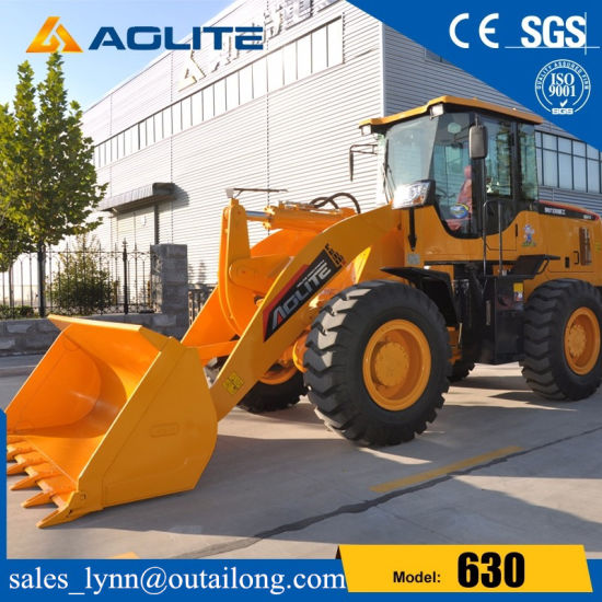 Construction Machinery 3ton Hydraulic Tractor Wheel Loader 630 for Sale pictures & photos
