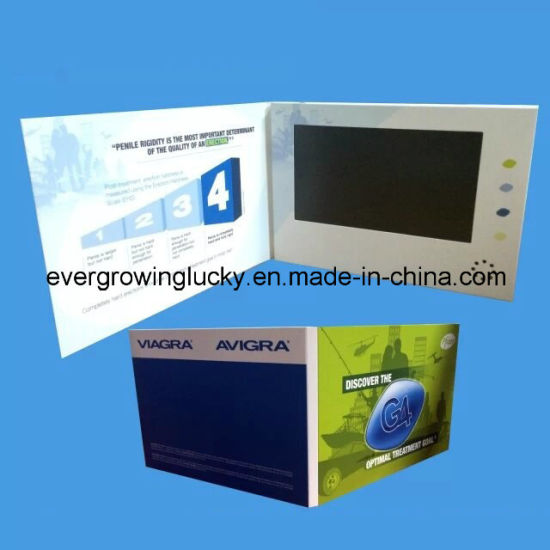7.0 Inch LCD Screen Digital Video Brochure Printing pictures & photos