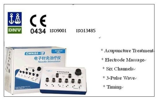 Cmns6-1 Electro Acupuncture Instrument