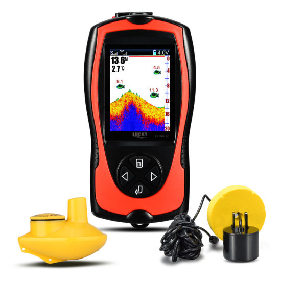 Color Display Fishfinder, Portable Fishfinder