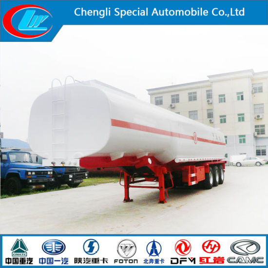 3 Axle Fuel Tank Trailer, 40000 Liters Fuel Tank Semi Trailer, China Made Fuel Tanker Trailer pictures & photos