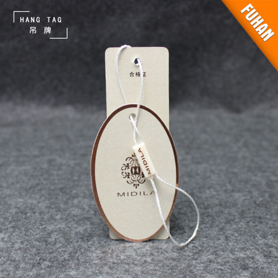 China Factory Design Fancy Underclothes Paper Hang Tags pictures & photos