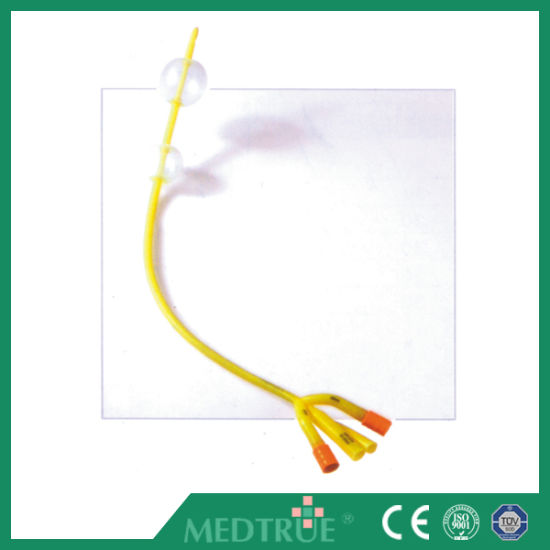 Ceiso Approved Medical Disposable 4 Way Double Balloon Standard Latex Foley Catheter Mt58014141