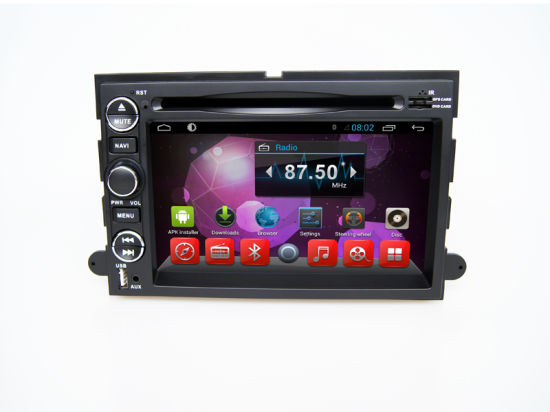 DVD Car Player 2DIN GPS Navigation System for Ford Fusion