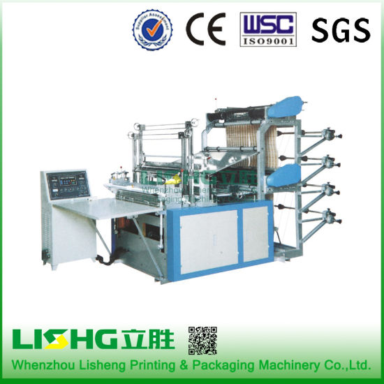 Lisheng Full Automatic Non Woven Bag Making Machine/Paper Bag Making Machine Price pictures & photos