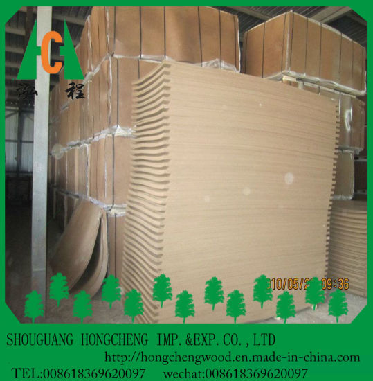 High Quality 1220*2440mm Laminated Hardboard pictures & photos