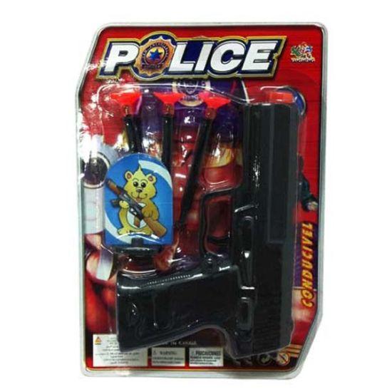 Wholesale Plastic Police Toy Mini Gun for Boys (10202225)