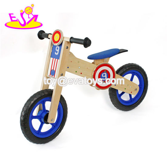 Newest Design Boys Wooden Balanced Toddler Bike Without Pedal W16c181
