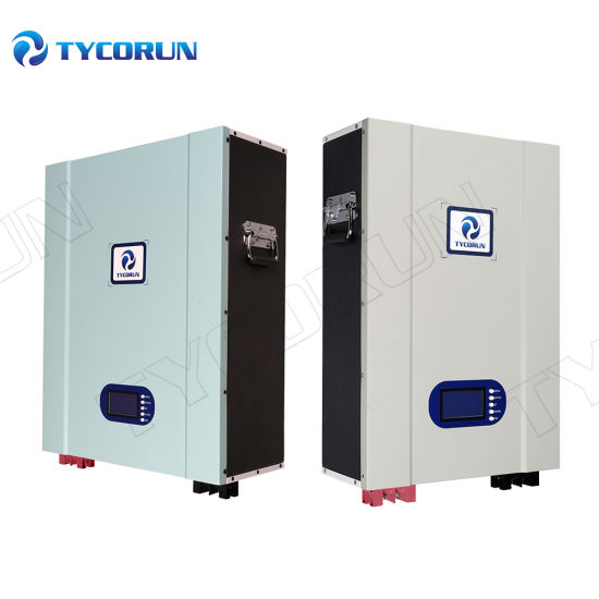 Tycorun LiFePO4 Powerwall Lithium Battery 48V 100ah 150ah 200ah Lithium Power Wall 48V Battery System