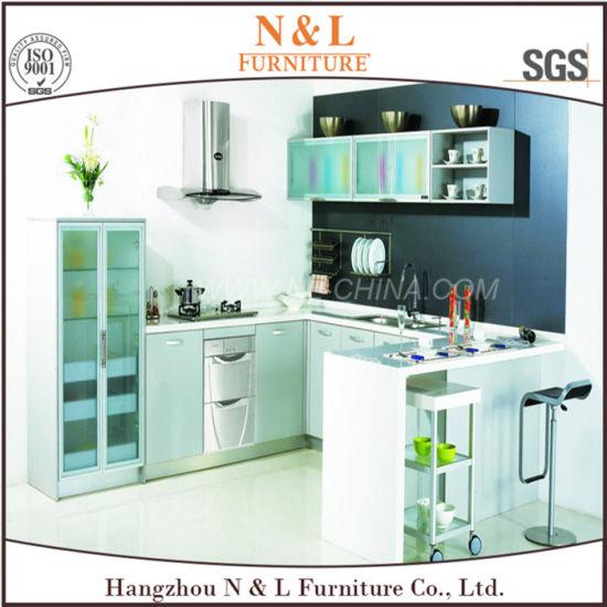 China Mfc Modular Modern Free Standing Kitchen Cabinet China
