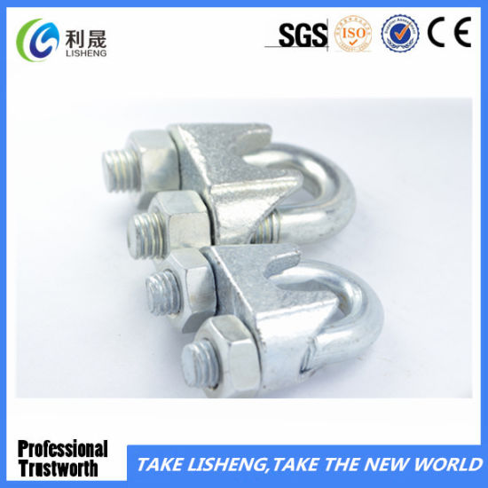 China Small U. S. Type Wire Rope Clip - China Small Wire Rope Clip ...