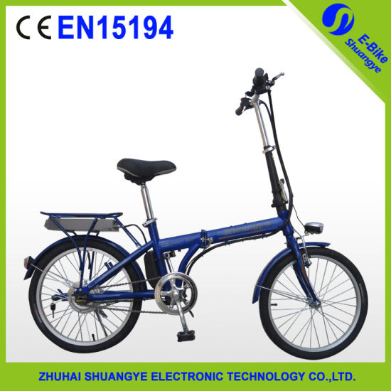 2015 Hot Sale Electric Bicycle with Motor En15194 pictures & photos