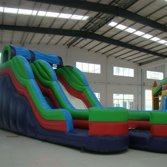 Inflatable Double Slide for Commerical Use