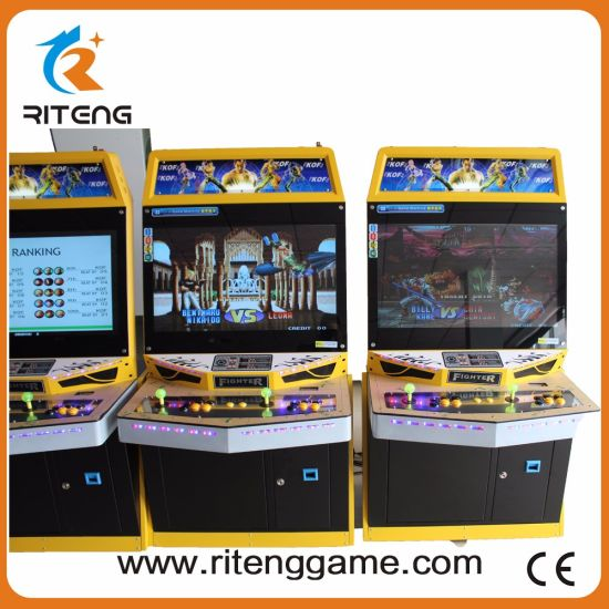 Coin Amusement Indoor Classic Video Game Arcade with Raspberry Pie 3 pictures & photos