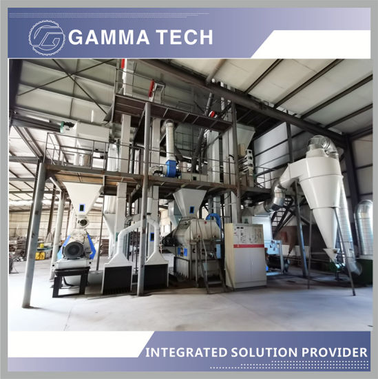 Automatic 3-5tph Animal Feed Machine for Poultry Chicken Pig Pet Cattle Sheep Including Feed Pellet Machine as Granuator, Grinding Machine, etc