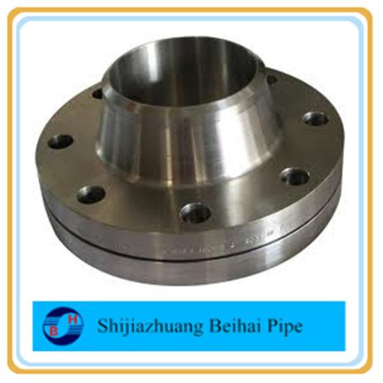 ASTM A105 ANSIB16.5 Cl300 Sch80 Wn RF Flange
