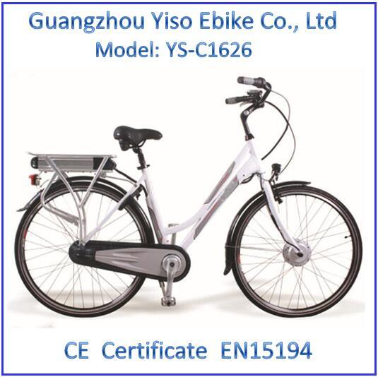 Step-Through Electric Bike for Woman