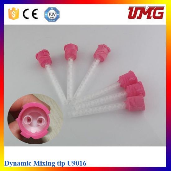 Dental Consumable Tools, Silicone Dynamic Mixing Tips Fits Pentamix Type Mixing Machine
