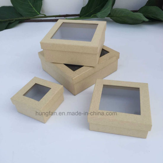 Hot Sale Different Size Kraft Paper Gift Box / Packaging Box