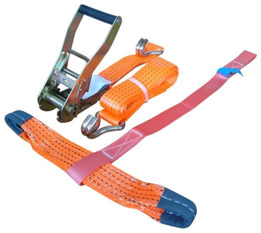 Truck Accessories Belts Buckle Cargo Lashing Ratchet Strap pictures & photos