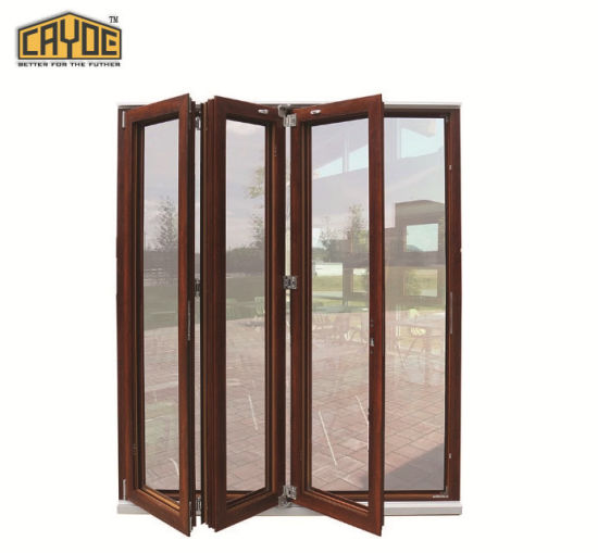 China Aluminum Exterior Bifold Dooraluminium Folding Patio Doors