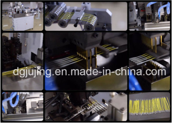 Automatic Wire Twisting and Tin Dipping Machine pictures & photos