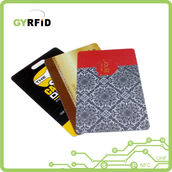 Security Contactless Cards T5557 RFID Card for Time Clocks (ISO) pictures & photos