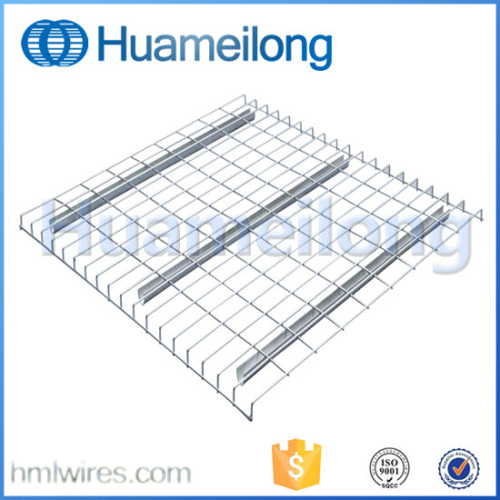 Steel Wire Storage Pallet Rack Decking for Step Beam pictures & photos