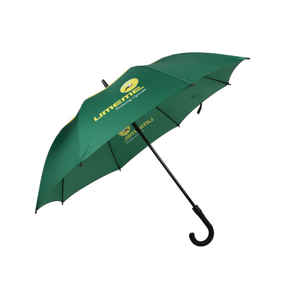 OEM High Quality Golf Umbrella with J Shaped Rubber Handle, Auto Open (BR-ST-93)