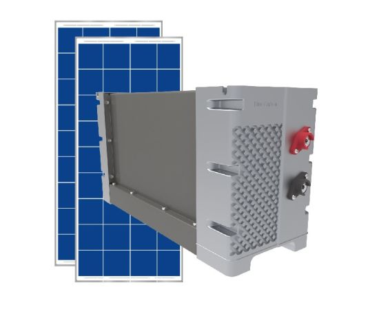 Solar Power Energy System with Deep Cycle LiFePO4 Battery