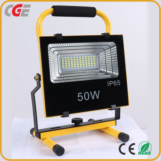 Top Quality Waterproof Rechargeable IP65 100W Integrated All in One Solar LED Flood Lamp