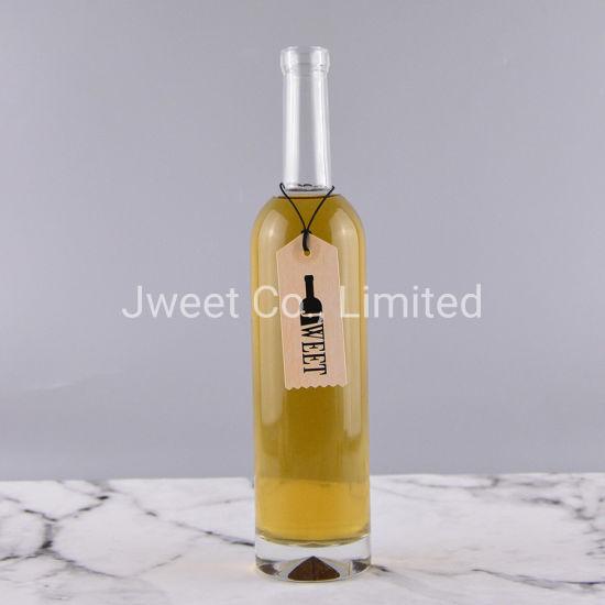 500ml Round Shape Empty Glass Bottle Vodka Glass Bottle