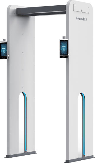 Contactless Multi-Person Body Temperature Scanner with Face Recognition