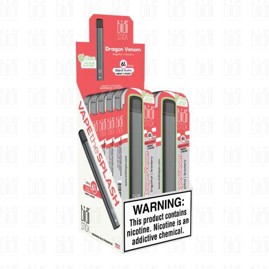China Best E Liquid Cigarette Bidi Stick Disposable Vape China Vape Bidi Stick