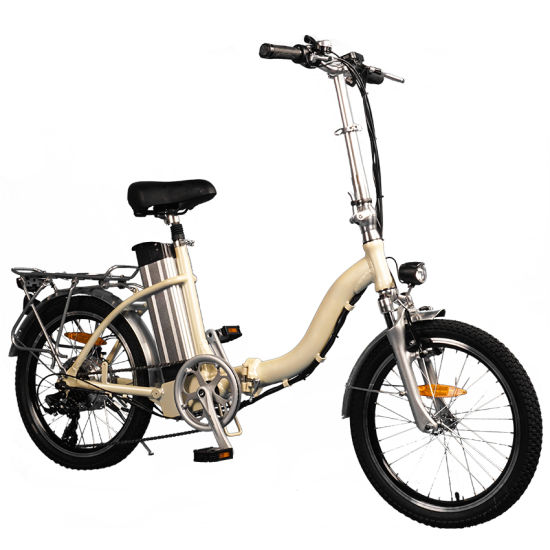 Wholesale Fashion Lady Light Weight City Stepper E-Bike Beach Cruiser with Lithium Battery