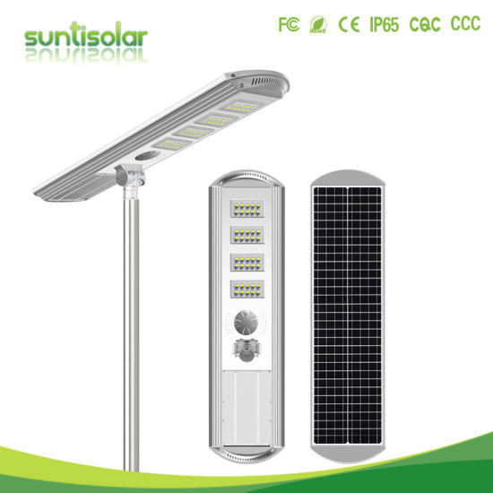60W Solar Outdoor Lighting Stand Alone Solar Street Light