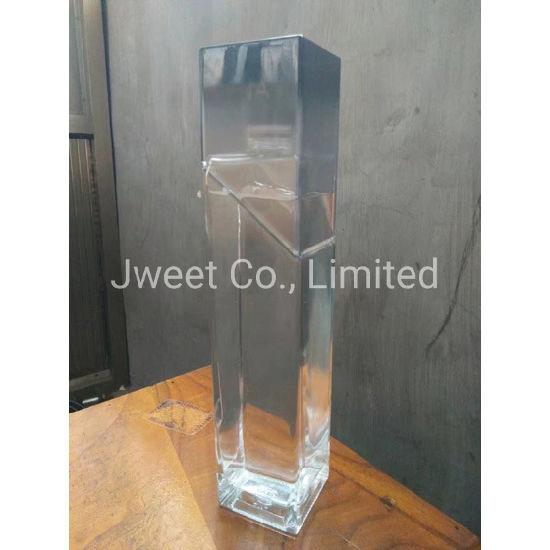 375ml Flint Glass Matte Gin Wine Bottle with Cork