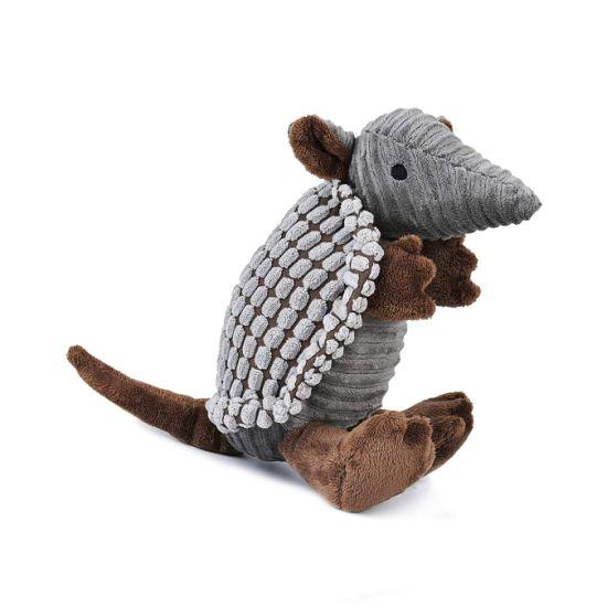Armadillo Soft Plush Animal Squaky Stuffed PP Cotton Pet Toy
