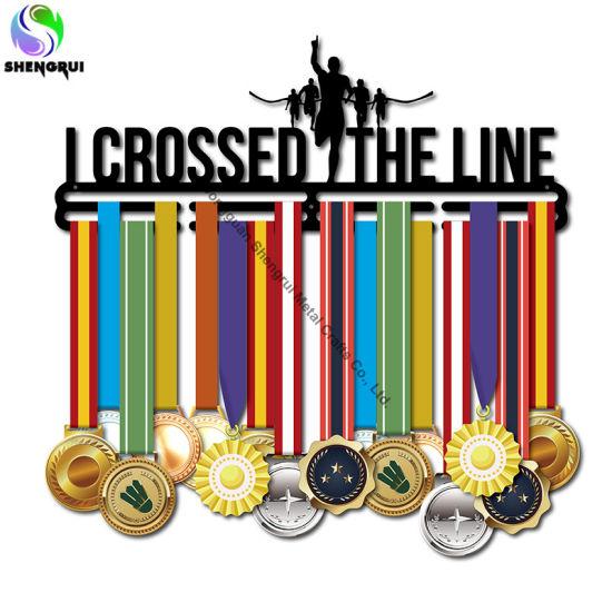 Running Sport Medal Hook Hanger Metal Medal Display Holder